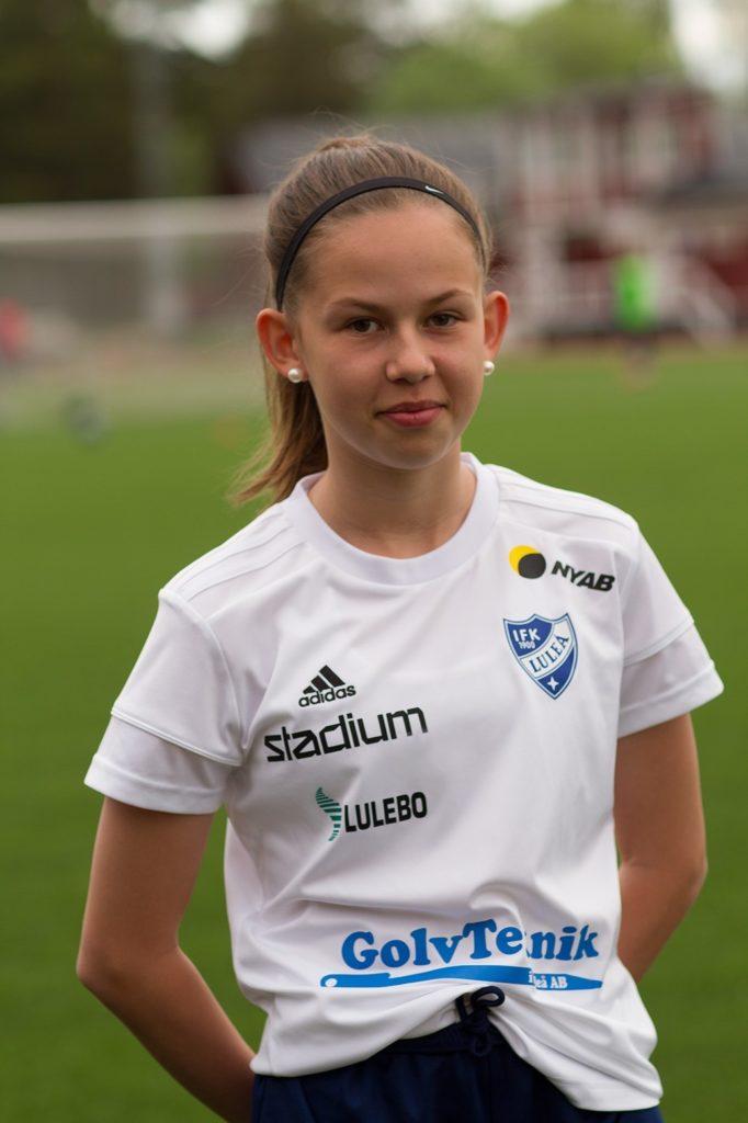 IFK-spelare på landslagsläger 2