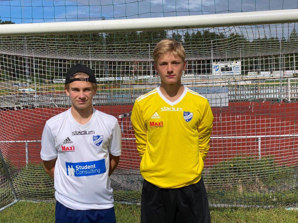 IFK-spelare på landslagsläger 3