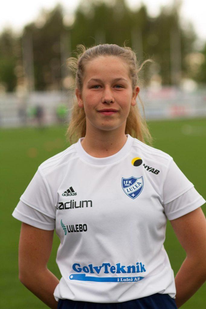 IFK-spelare på landslagsläger 1